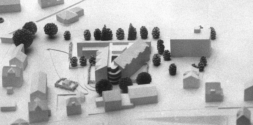 WETTBEWERB ALTERSWOHNHEIM TRIENGEN LU (MIT T. BÜHLMANN) 1983