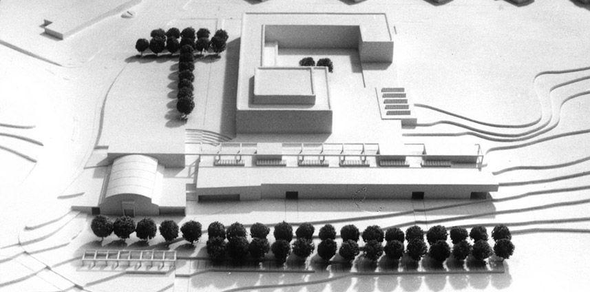 WETTBEWERB ERWEITERUNG KANTONSSCHULE ROTHEN LITTAU LU 1988
