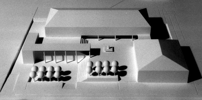 STUDIENAUFTRAG SCHULHAUS-ERWEITERUNG SEMPACH STATION LU 1996