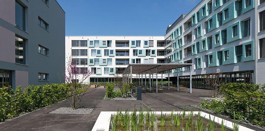Betagtenzentrum Emmenfeld Emmen LU 2014 - 2015 / Wettbewerb 1. Preis